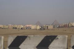 Pyramiden von Gizeh / Kairo © Larissa Bender