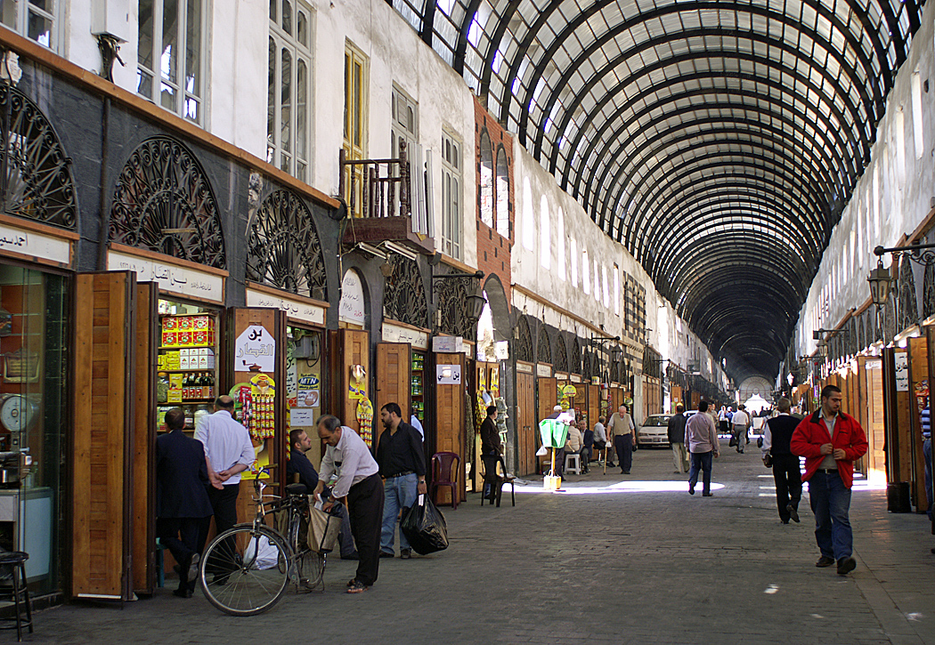 Midhat Pascha Suk in Damaskus © Larissa Bender