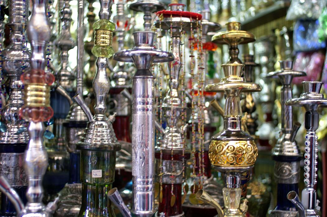 Wasserpfeifen Damaskus © Larissa Bender